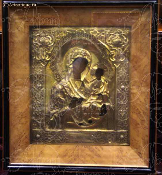 """L'Icône """"Iverskaya Sainte Mère De Dieu"""" - photo 1"""