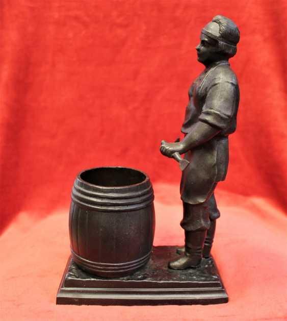 "Figurine-pencil holder ""Cooper"", Kusa. - photo 3"