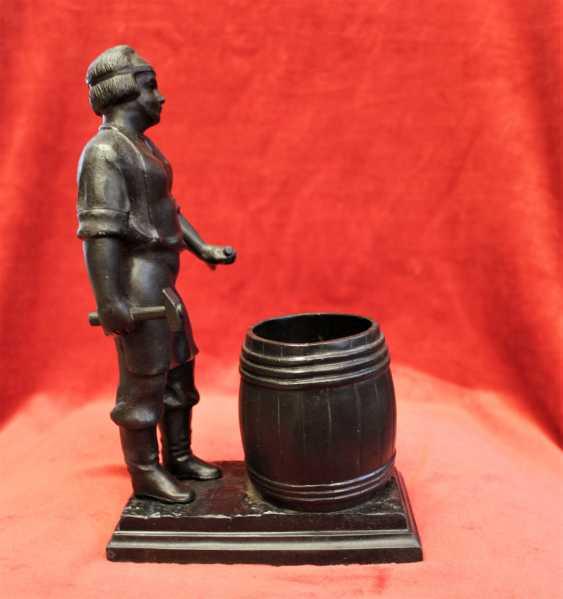 "Figurine-pencil holder ""Cooper"", Kusa. - photo 5"