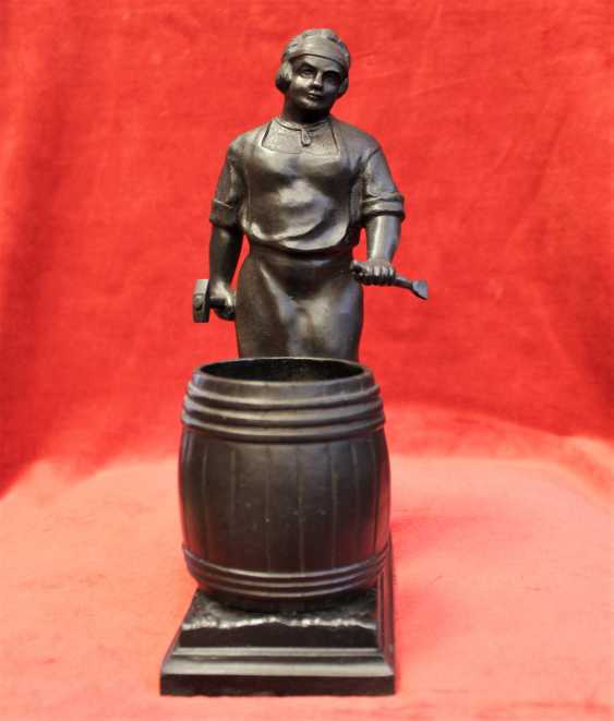 "Figurine-pencil holder ""Cooper"", Kusa. - photo 2"