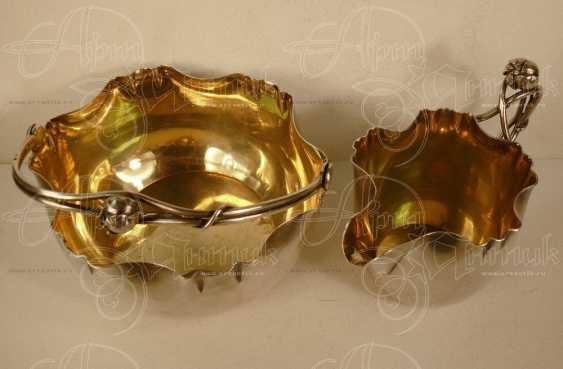 Set - vase and creamer - photo 3