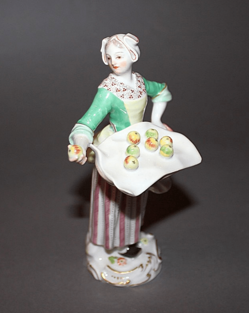 Meissen, Germany, 1949 - th year, according to the model. J. Kaendler (1756 - 1763. g) - photo 1