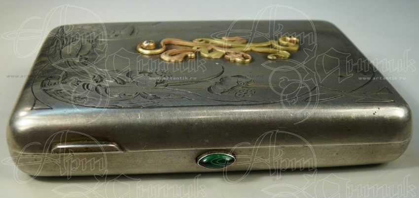 """Cigarette case monogrammed """"KK"""" - photo 2"""