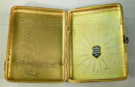 """Cigarette case monogrammed """"KK"""" - photo 4"""