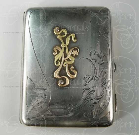"""Cigarette case monogrammed """"KK"""" - photo 1"""