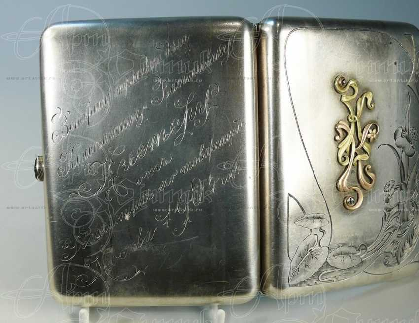 """Cigarette case monogrammed """"KK"""" - photo 3"""