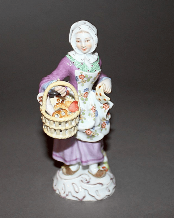 Meissen, Germany, 1924 to 1934 - the year, according to the model. J. Kaendler (1756 - 1763. g) - photo 1