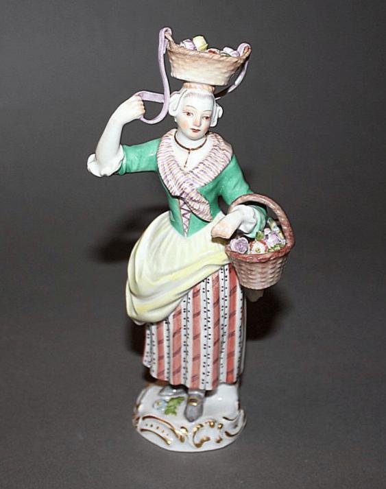 Meissen, Germany, 1950 year model. J. Kaendler (1756 - 1763. g) - photo 1