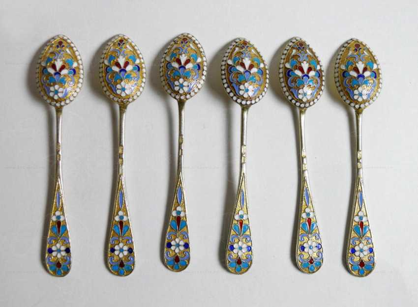 A set of teaspoons - photo 1