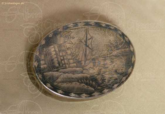 Snuff box oval - photo 2