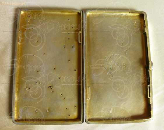 Cigarette case with gold lining - photo 5