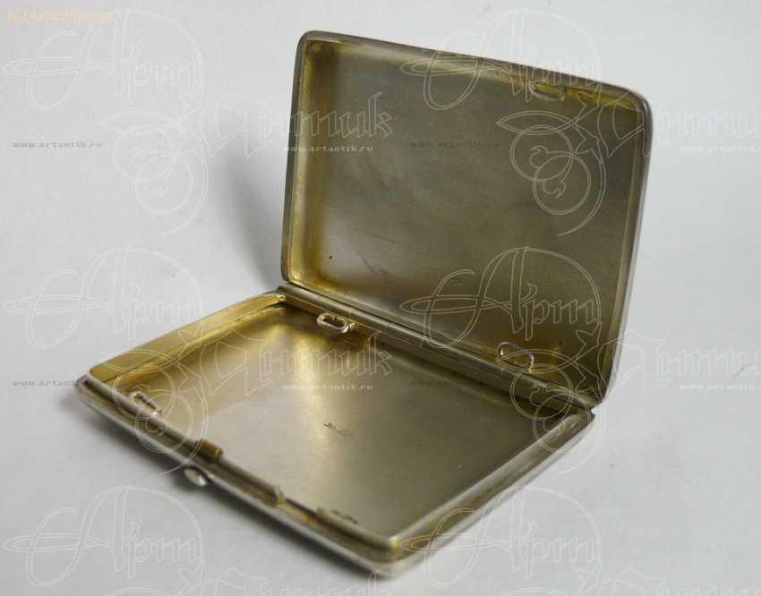 """Cigarette case """"winter Troika"""" - photo 3"""
