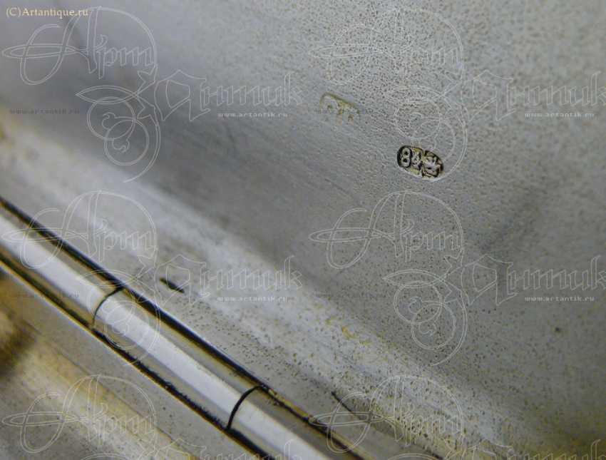 """Cigarette case """"winter Troika"""" - photo 4"""
