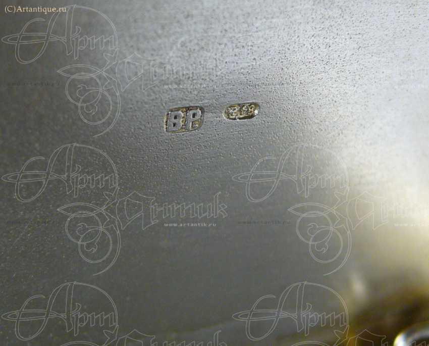 """Cigarette case """"winter Troika"""" - photo 5"""