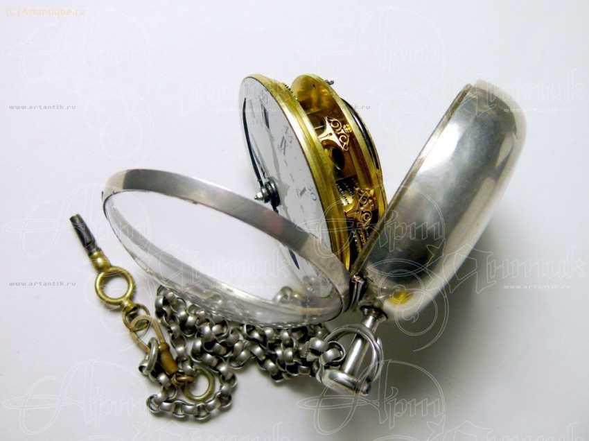 "Pocket watch ""Moreton"" - photo 6"