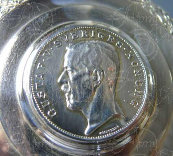 Mug of beer with a portrait of Gustav V - photo 3