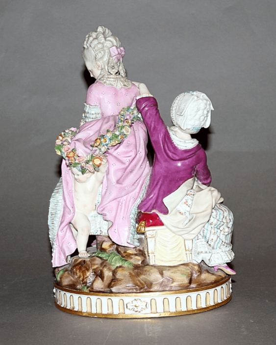 Meissen, Germany, late XIX century, model by M. V. issue year (1777 year) - photo 2