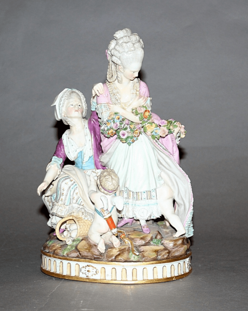 Meissen, Germany, late XIX century, model by M. V. issue year (1777 year) - photo 1