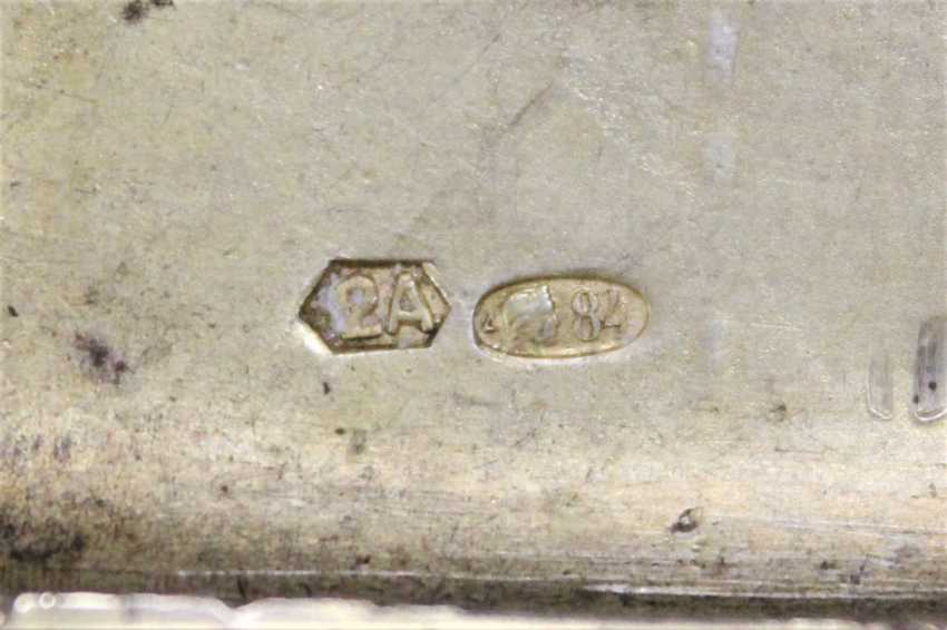 Silver cigarette case, XIX century - photo 4