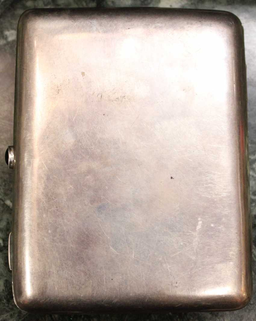 Silver cigarette case, XIX century - photo 2
