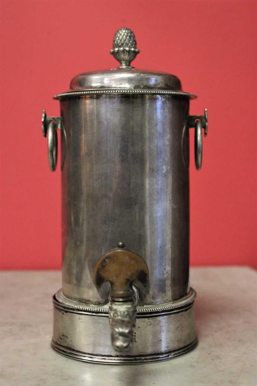 Samovar-cafetière en argent, XIXE siècle - photo 2