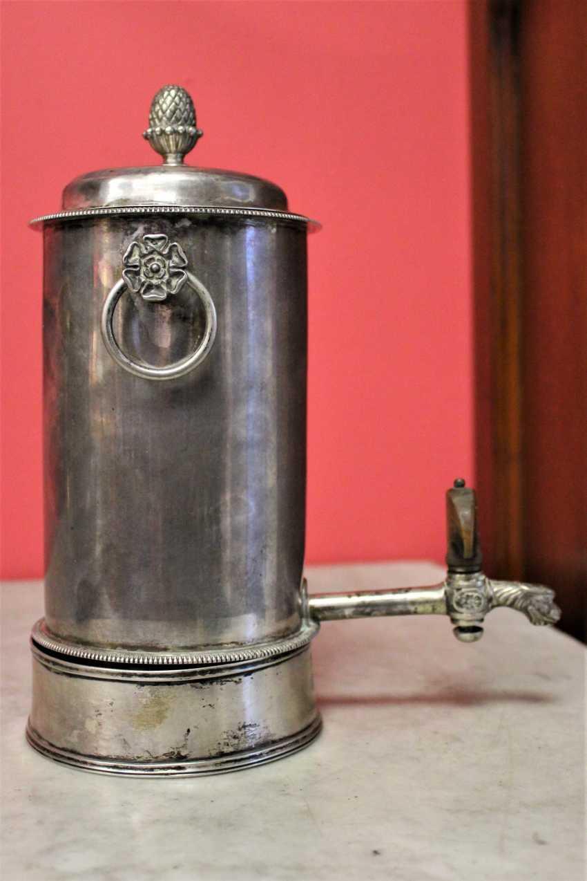 Samovar-cafetière en argent, XIXE siècle - photo 3