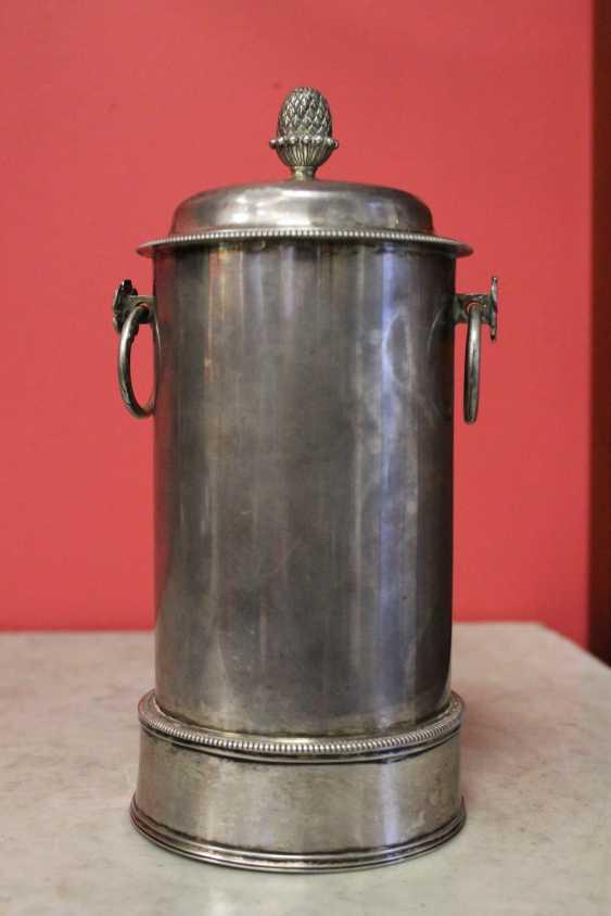 Samovar-cafetière en argent, XIXE siècle - photo 4