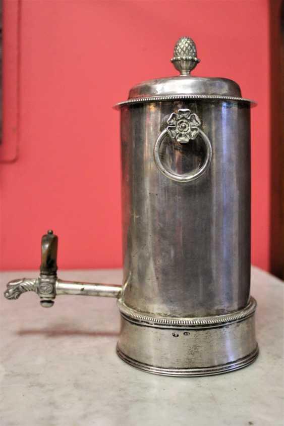 Samovar-cafetière en argent, XIXE siècle - photo 5