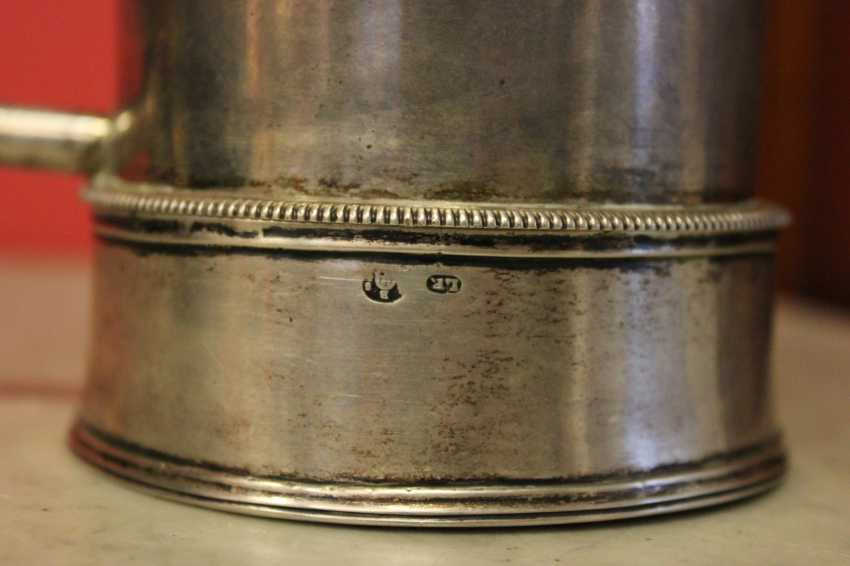 Samovar-cafetière en argent, XIXE siècle - photo 7