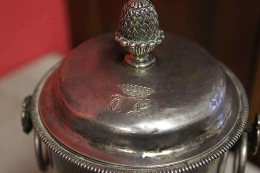 Samovar-cafetière en argent, XIXE siècle - photo 8