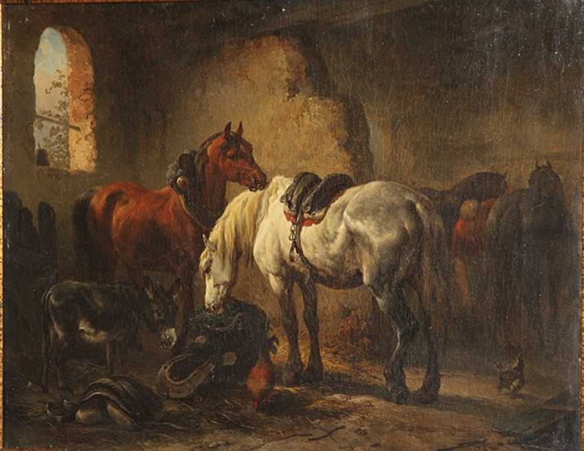"""""""In the stables"""". A. Morozov - photo 3"""