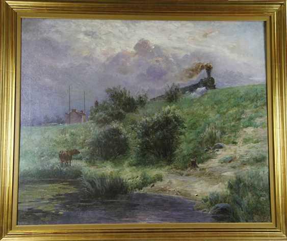 """""""Le premier échelon sur le front"""", Izrael Pass, 1911 - photo 1"""