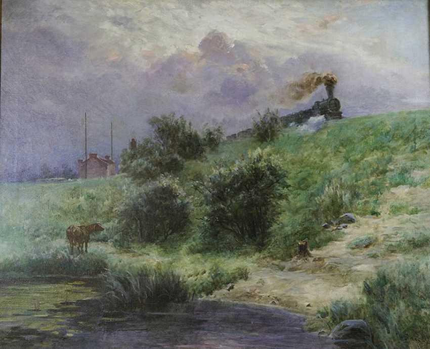 """""""Le premier échelon sur le front"""", Izrael Pass, 1911 - photo 2"""