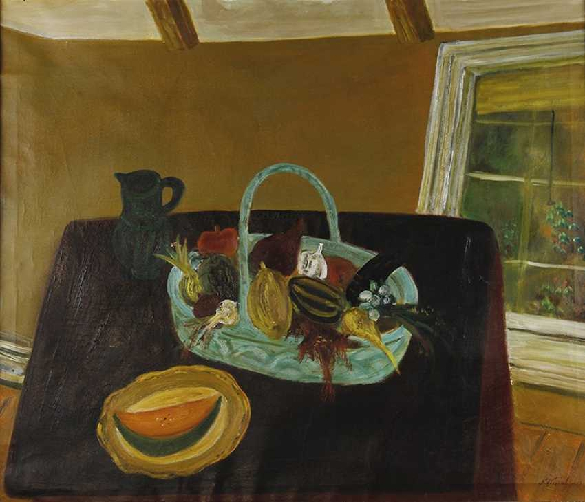 """""""Still life on the table."""" Nikolay Vasilyev 1958 - photo 1"""