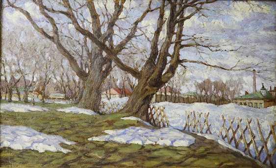 "The ""spring"". P. Lednev-Shchukin, 1918 - photo 2"