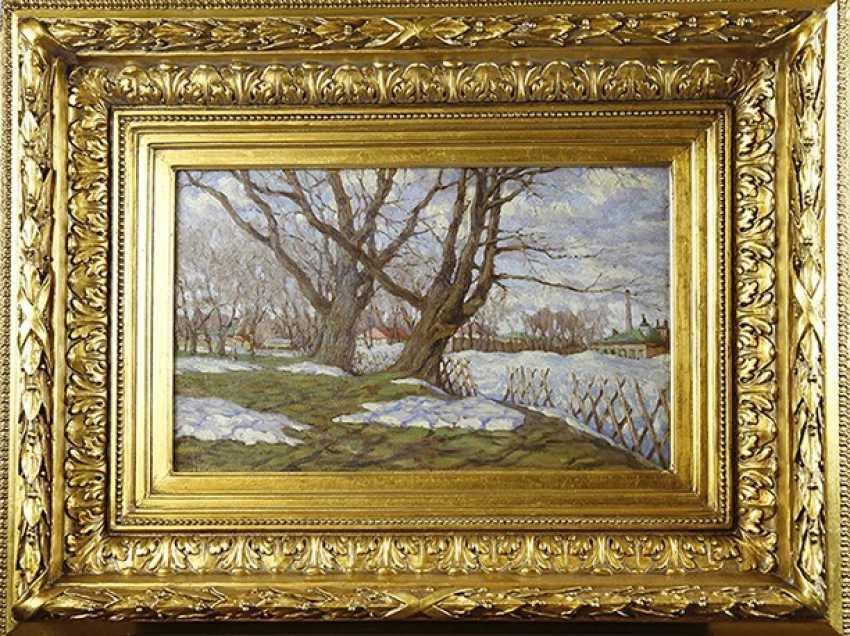 "The ""spring"". P. Lednev-Shchukin, 1918 - photo 1"