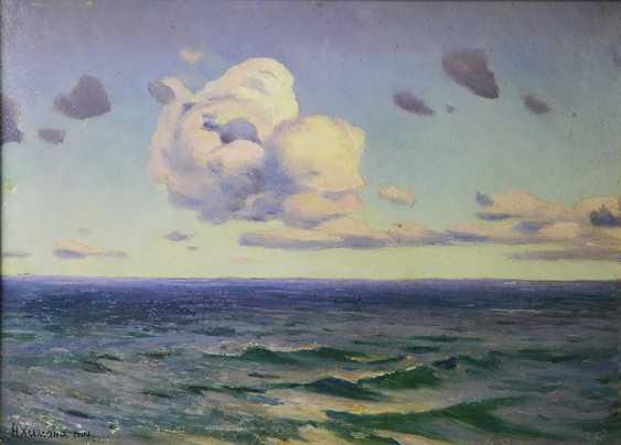 """The Sea,"" N.Himona, 1900 - photo 1"