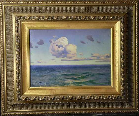 """The Sea,"" N.Himona, 1900 - photo 2"