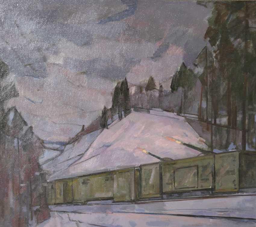 """""""Train"""", N. Timkov - photo 1"""