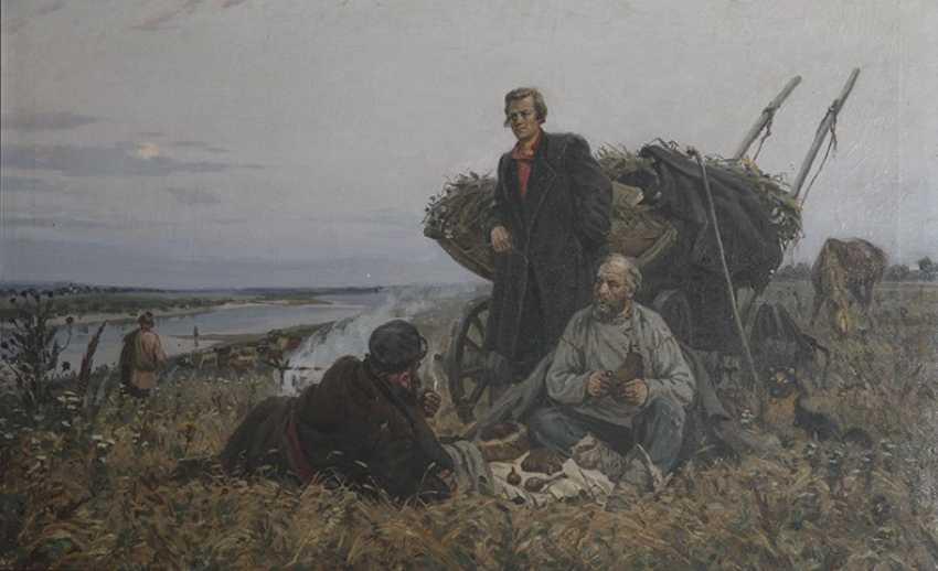 """Koltsov in the steppes of the don"". G. Goncharov, 1954 - photo 1"