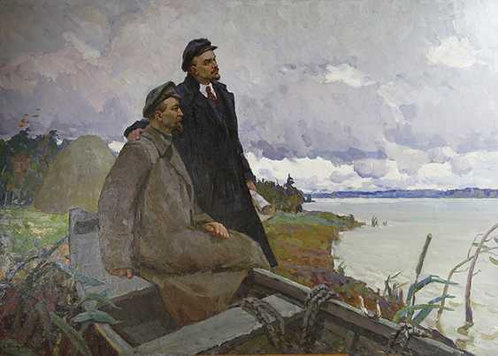 """""""Lenin and Dzerzhinsky"""". Kuznetsov - photo 1"""