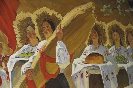 """Harvest festival"". 1974, H. Tomenko - photo 2"