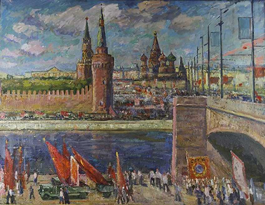 """Moscow holidays"", E. Veidemanis - photo 1"