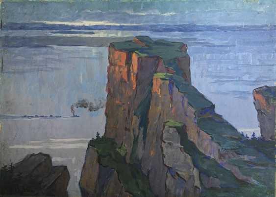 """""""Lena Pillars"""", 1964, A. Vyatkin - Foto 1"""
