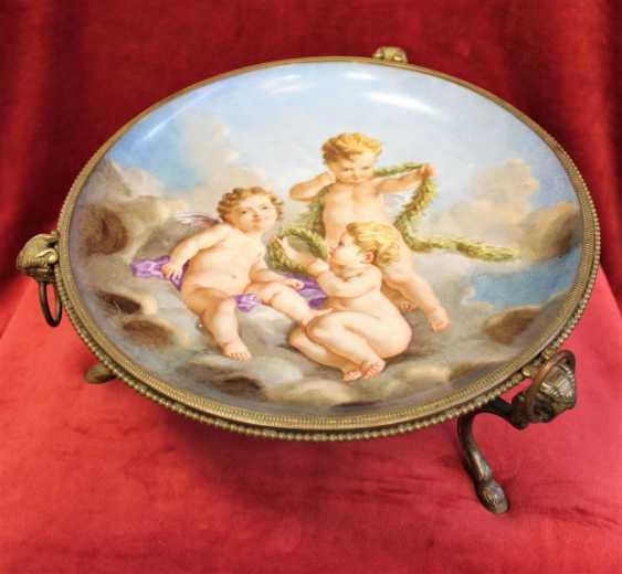 Plate-a porcelain fruit bowls, XIX century - photo 2