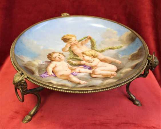 Plate-a porcelain fruit bowls, XIX century - photo 4
