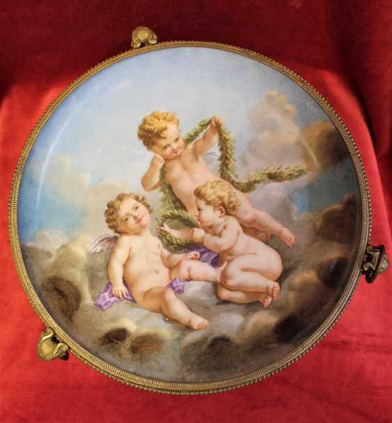 Plate-a porcelain fruit bowls, XIX century - photo 1