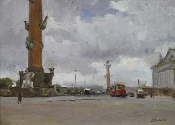 """View of the Rostral column in St. Petersburg"". Ya Romas - photo 2"