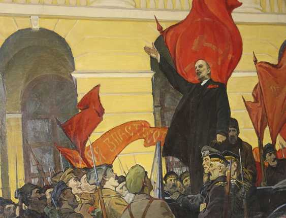 """Октябрь 1917 Года"", Лат.Фитилёв - фото 1"