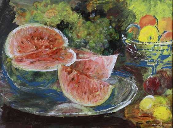 """""""Stillleben mit Wassermelone"""", A. Bändern - Foto 1"""